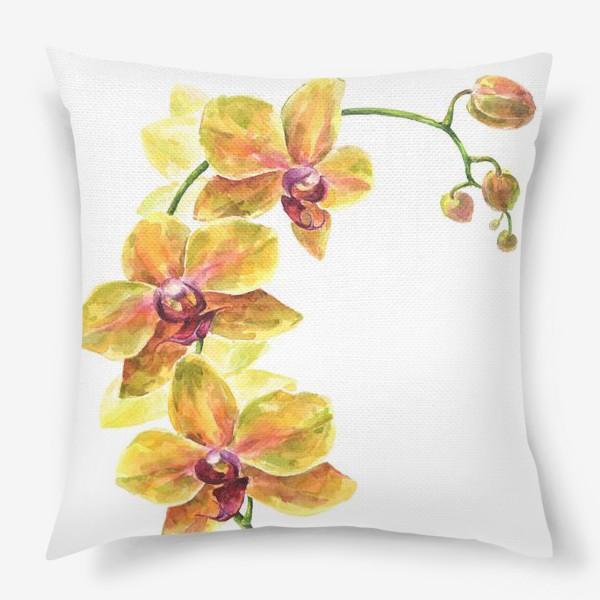 Подушка «Орхидея»