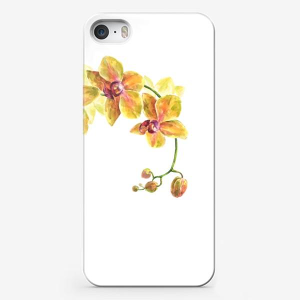 Чехол iPhone «Орхидея»