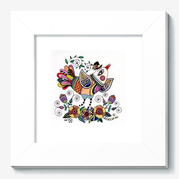 Картина «Птица в любви»