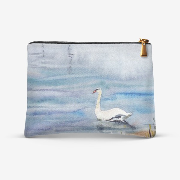 Косметичка «Лебедь и яхты»