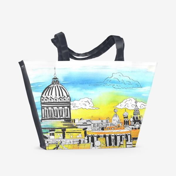 Пляжная сумка «Лето в Питере. Солнечный Петербург»