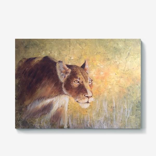 Холст «Львица»
