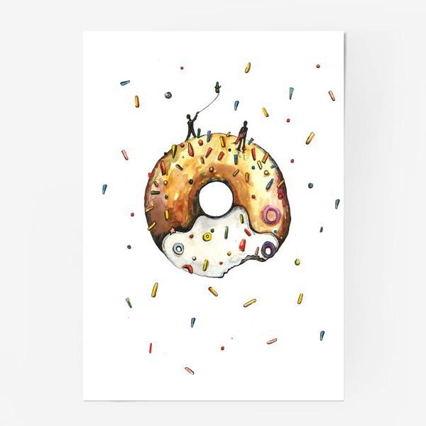 Постер «Пончик и гравитация»