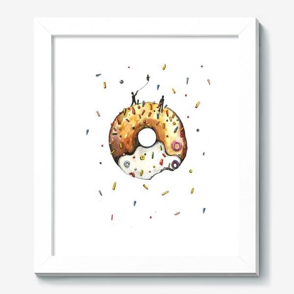 Картина «Пончик и гравитация»