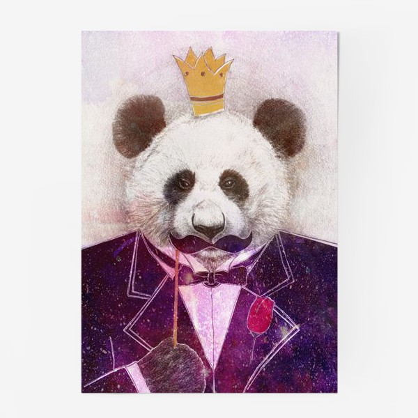 Постер «Панда - царь зверей!»