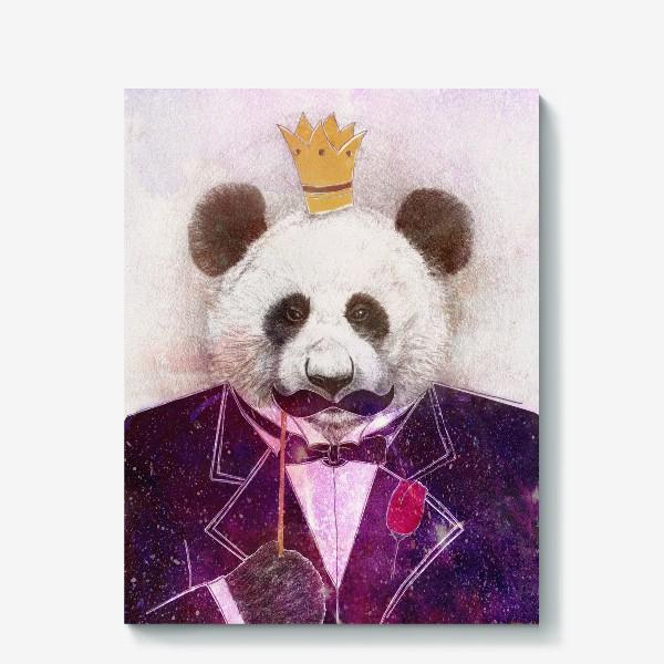 Холст «Панда - царь зверей!»