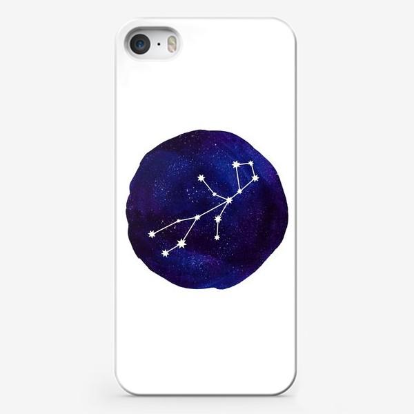 Чехол iPhone «Космос. Дева»