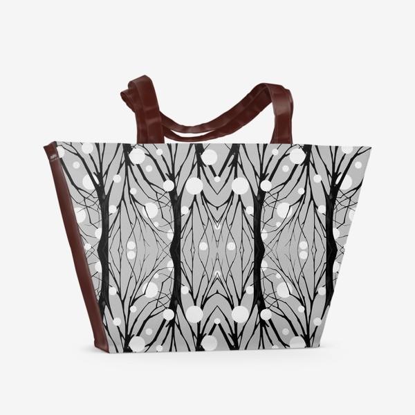 Пляжная сумка «серый туман»