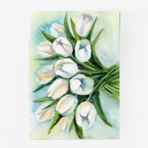 Постер «Белые тюльпаны»