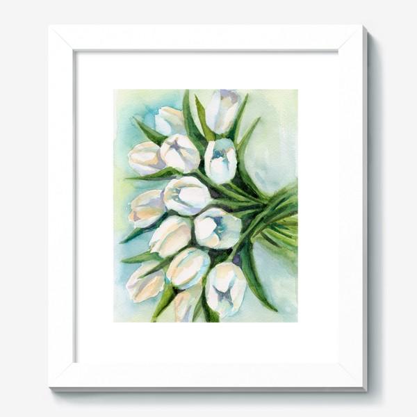 Картина «Белые тюльпаны»