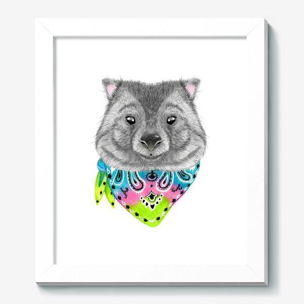 Картина «Вомбат. Милые животные Австралии.»