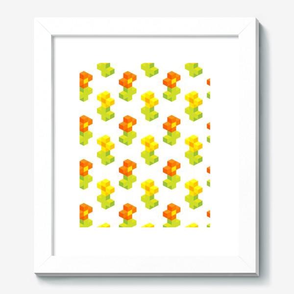 Картина «Цветочки. Пиксель-арт.»