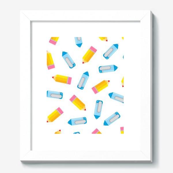 Картина «Карандаши и ручки»