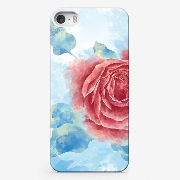Чехол iPhone «Морозная Роза»