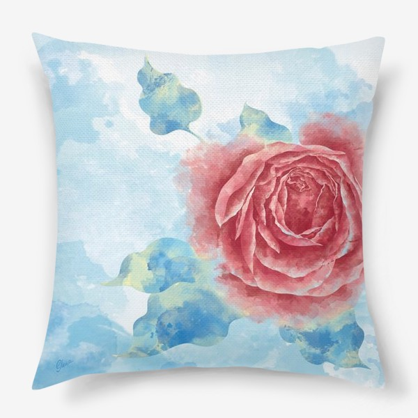 Подушка «Морозная Роза»