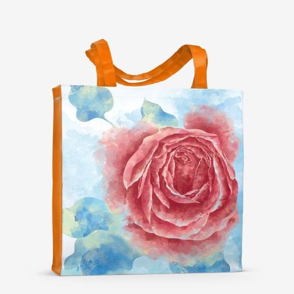 Сумка-шоппер «Морозная Роза»