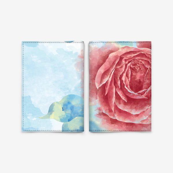Обложка для паспорта «Морозная Роза»