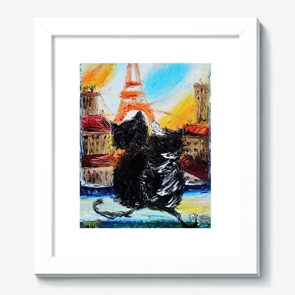 Картина «Кошки в Париже»