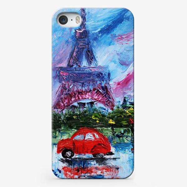 Чехол iPhone «Влюбленный Париж»