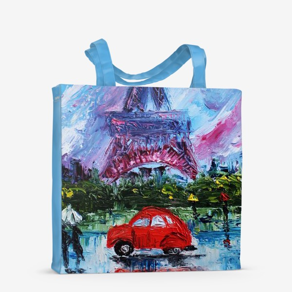 Сумка-шоппер «Влюбленный Париж»