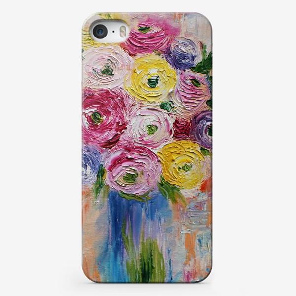 Чехол iPhone «Букет ранункулисов»