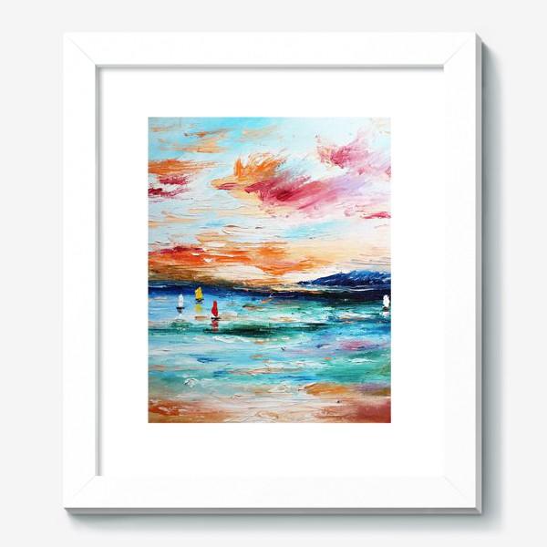 Картина «Лазурное море»