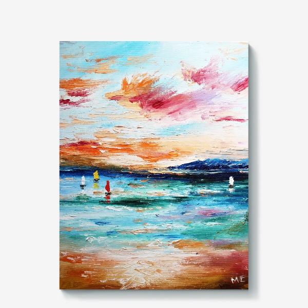 Холст «Лазурное море»