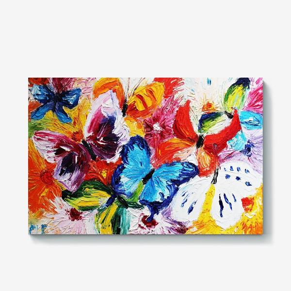 Холст «Бабочки»