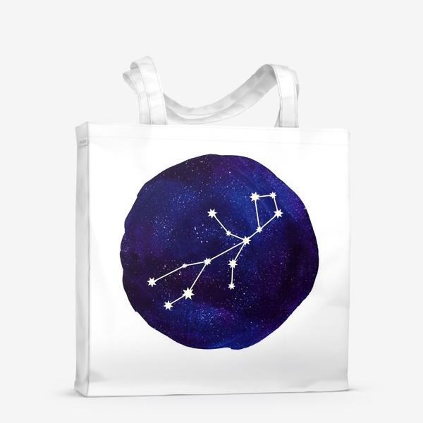 Сумка-шоппер «Космос. Дева»