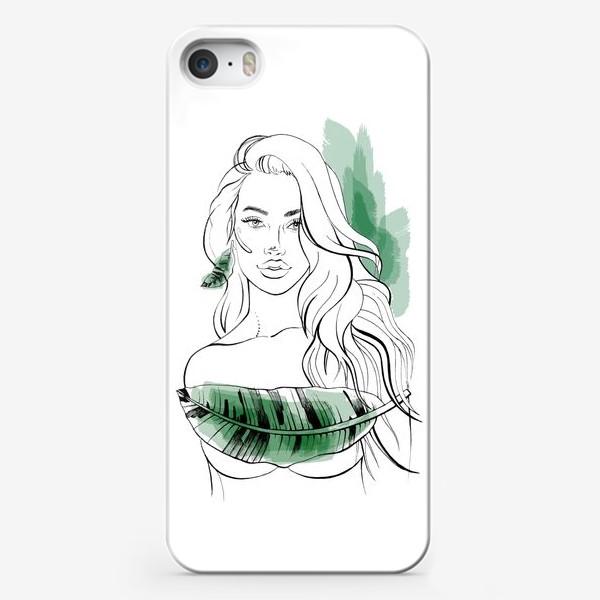 Чехол iPhone «Тропическая»