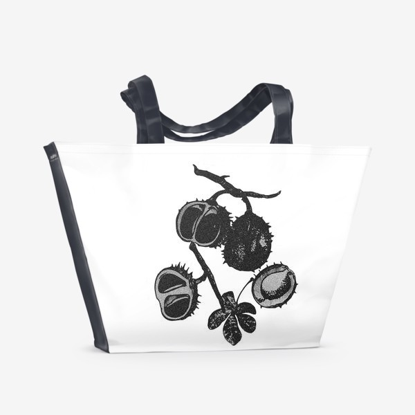 Пляжная сумка «Орехи каштана»