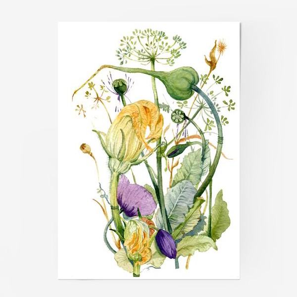 Постер «Огород»