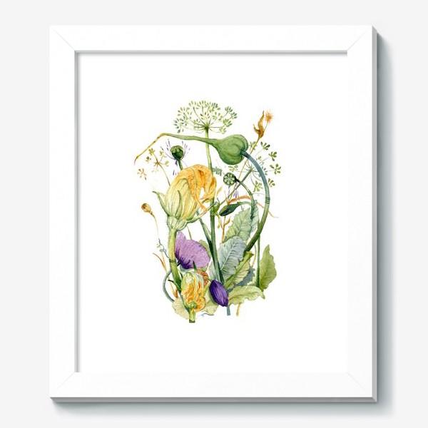 Картина «Огород»