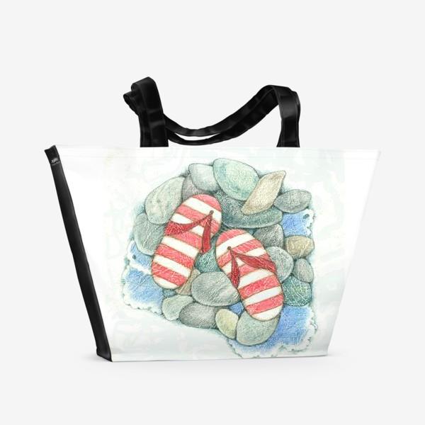 Пляжная сумка «Хочу на море!»