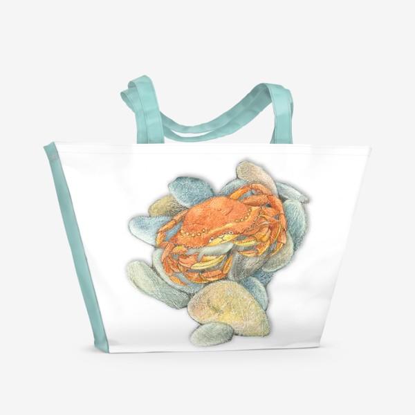 Пляжная сумка «Крабик»