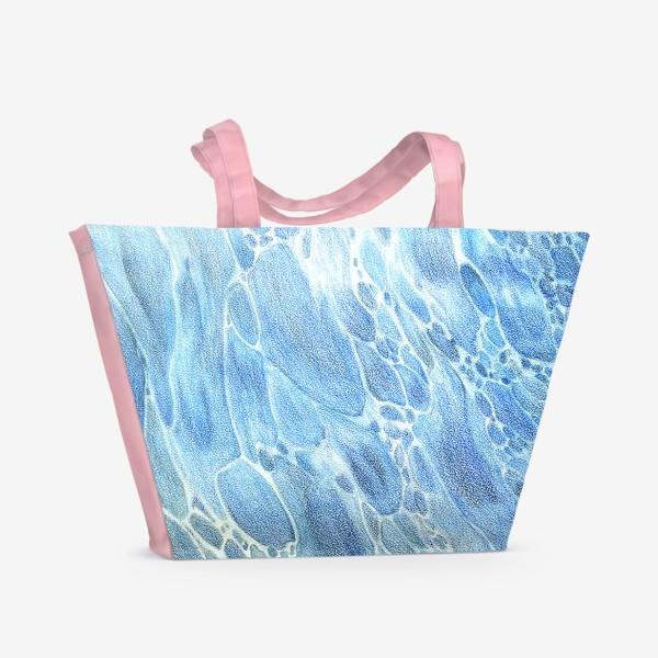 Пляжная сумка «Водная гладь»
