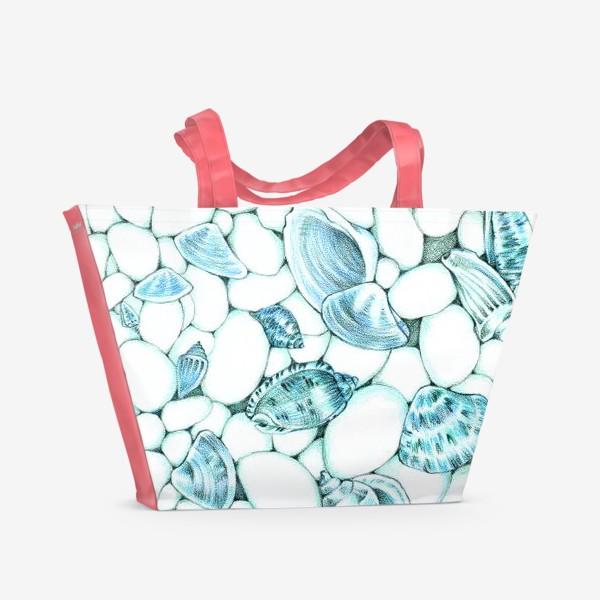 Пляжная сумка «Берег моря»