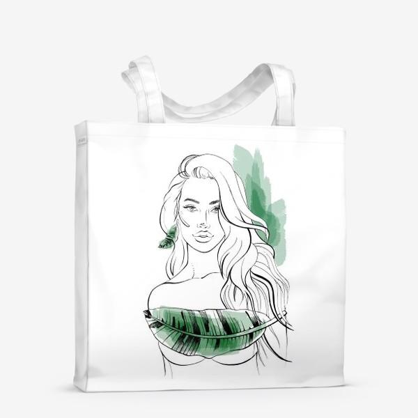 Сумка-шоппер «Тропическая»