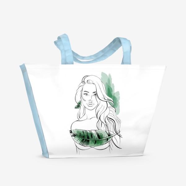 Пляжная сумка «Тропическая»
