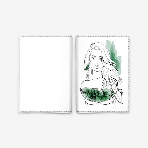 Обложка для паспорта «Тропическая»