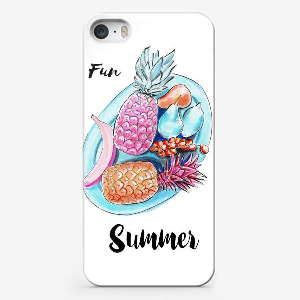 Чехол iPhone «Весёлое лето»