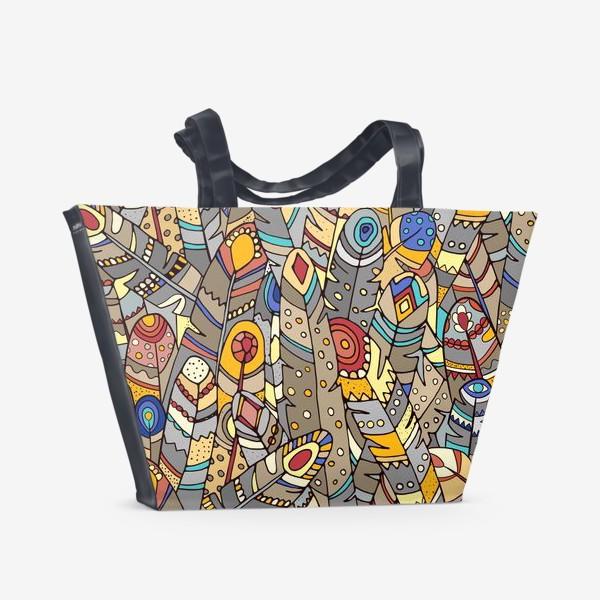 Пляжная сумка «Индейское лето»