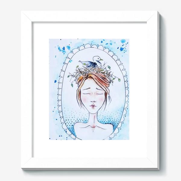 Картина «Девушка с чайкой»