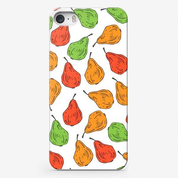 Чехол iPhone «груши на белом»
