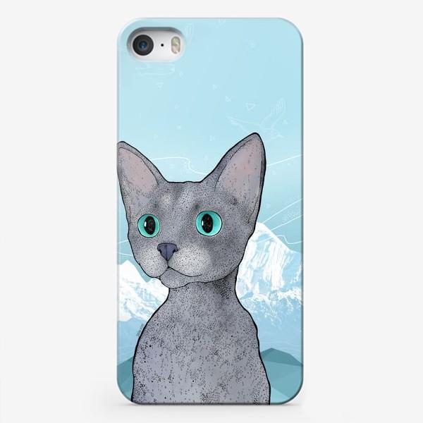 Чехол iPhone «Кот Клаус»