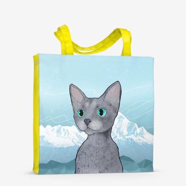 Сумка-шоппер «Кот Клаус»