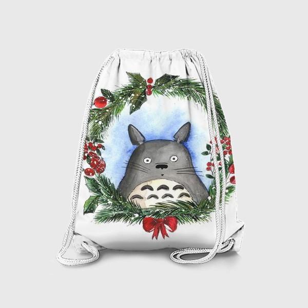 Рюкзак «Новогодний Тоторо»