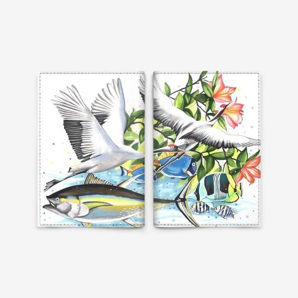 Обложка для паспорта «Живая природа»
