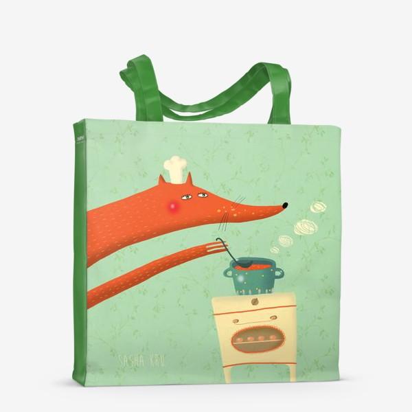 Сумка-шоппер «Поварёнок лис»