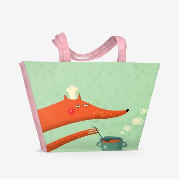 Пляжная сумка «Поварёнок лис»
